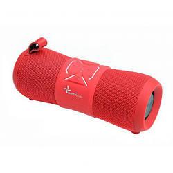 Влагозащищенная колонка IP67 бумбокс 12Вт аккумулятор 2000 mAh красный