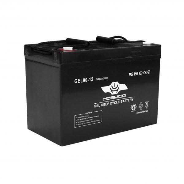 Гелевый Аккумулятор Haswing 90Ah 12V