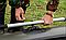 Надувная гребная одноместная лодка из Пвх Л190ПУ и длинные весла, фото 5