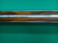 Карниз двухрядный дуб золтой алюминий -2,5м