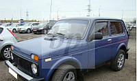 Дефлекторы окон (ветровики) Lada Niva (лада нива / ВАЗ 2121/ ВАЗ 2131) 1977+