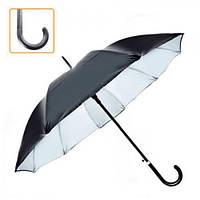 Зонт-трость полуавтомат мужской 55см 10сп