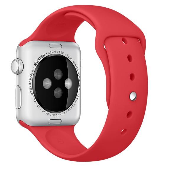 """Ремешок для Apple Watch 38/40 mm """"темно-терракотовый"""" №14"""