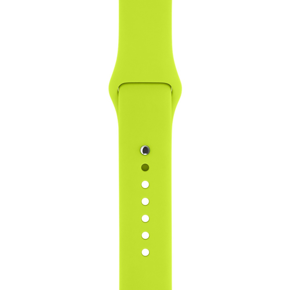 "Ремешок для Apple Watch 42/44 mm ""лайм"" №31"