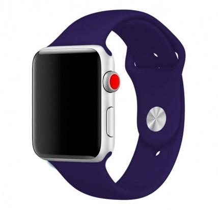 """Ремешок для Apple Watch 42/44 mm """"ультрафиолет"""" №30"""
