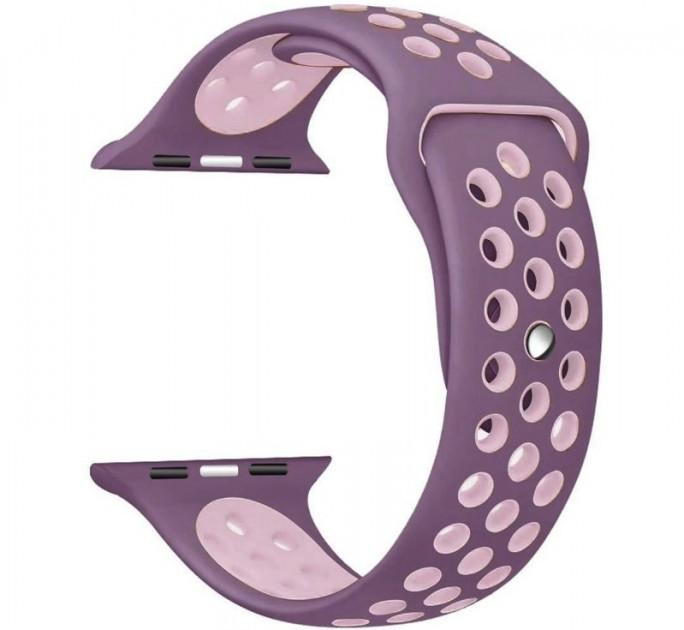 Ремешок Nike+ Sport Band для Apple Watch 42/44 mm Violet/Pink