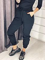 Женские штаны теплые на флисе С, М, Л, графит, фото 1