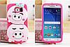 """Samsung S6 G920  противоударный силиконовый 3D TPU чехол накладка бампер для телефона """"QUIPA PIGS"""", фото 8"""