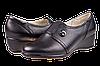 Женские туфли кожаные  mida 21360ч чёрные   весенние