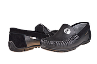 "Мужские туфли в школу ""комфорт"" calore w8906-13a чёрные   весенние , фото 1"