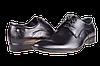 Мужские туфли кожаные  faro 362-51 черные   весенние