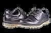 Мужские туфли кожаные  mida 11815ч черные   весенние