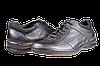 Мужские туфли mida 11152ч черные   весенние