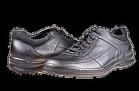 Мужские туфли mida 11152ч черные   весенние , фото 1