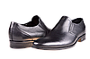 Мужские туфли кожаные  mida 11115ч черные   весенние