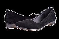 Женские туфли городской комфорт brline ж-2вел ч черные   весенние