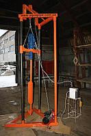 Малогабаритная буровая установка для бурения скважин. «ВОДОБУР — 80». Бурильная установка.