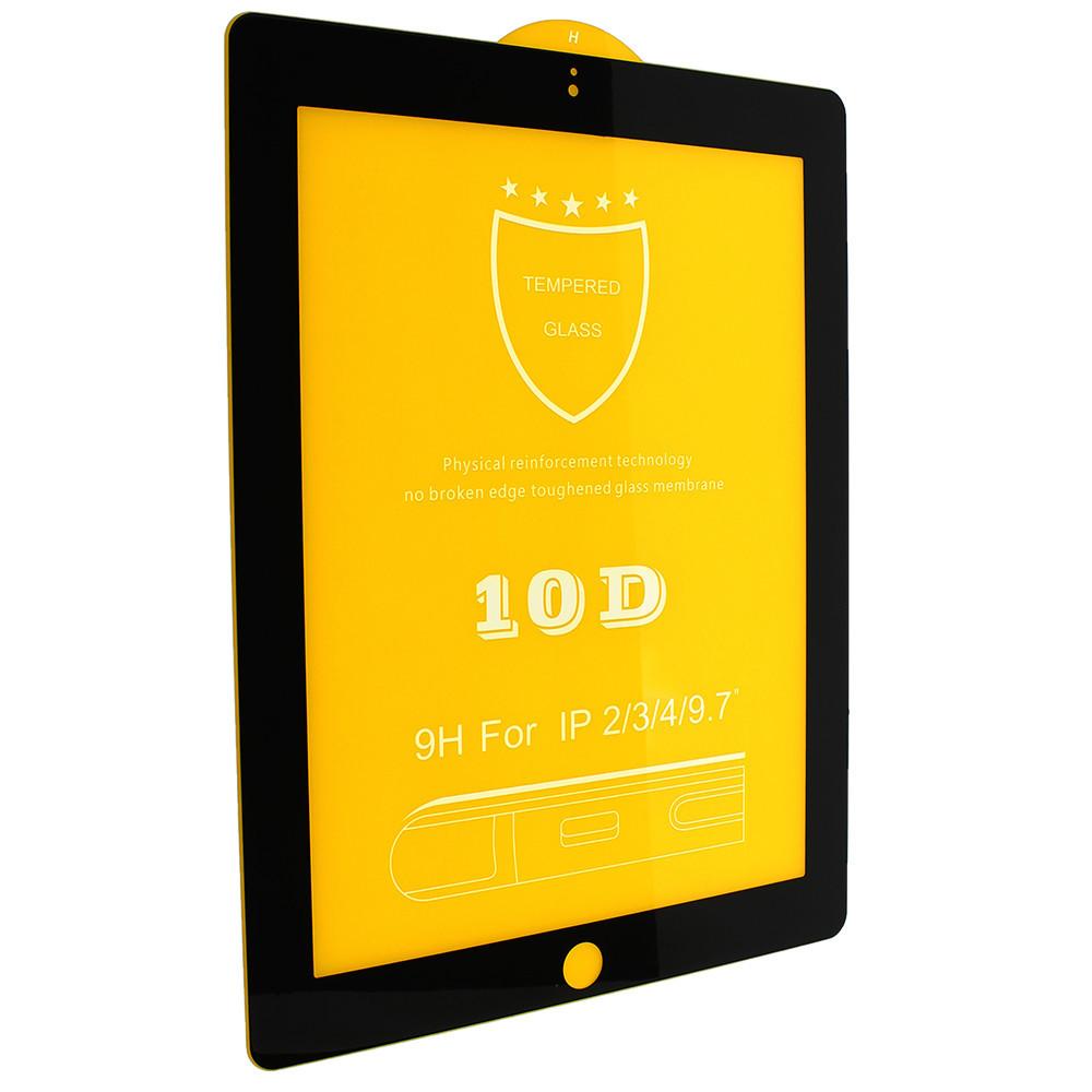 Защитное стекло для iPad 10D (Черный)