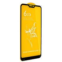 Защитное стекло Premium 6D для Xiaomi MI A2 Lite / Redmi 6 Pro Черный
