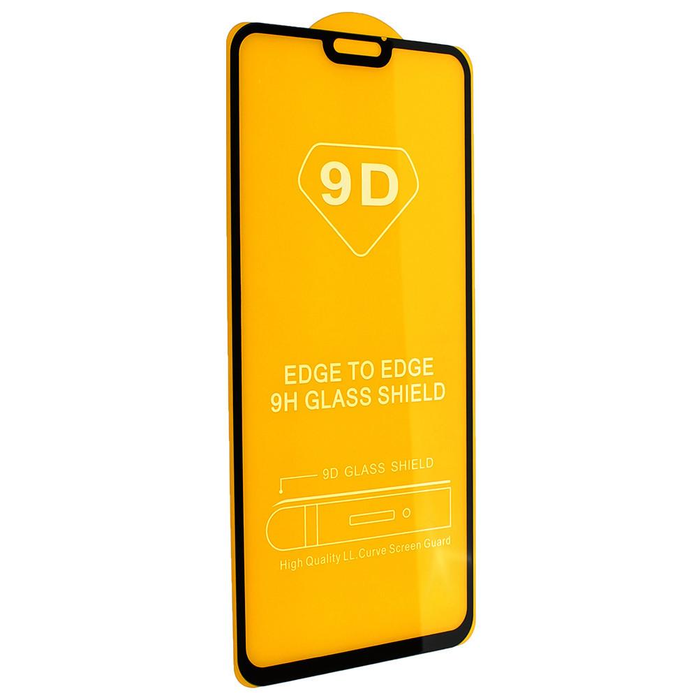 Защитное стекло 9D Full Glue Triplex Honor 8X Черный