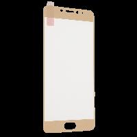 Защитное стекло triplex для Meizu M5 Note золотой