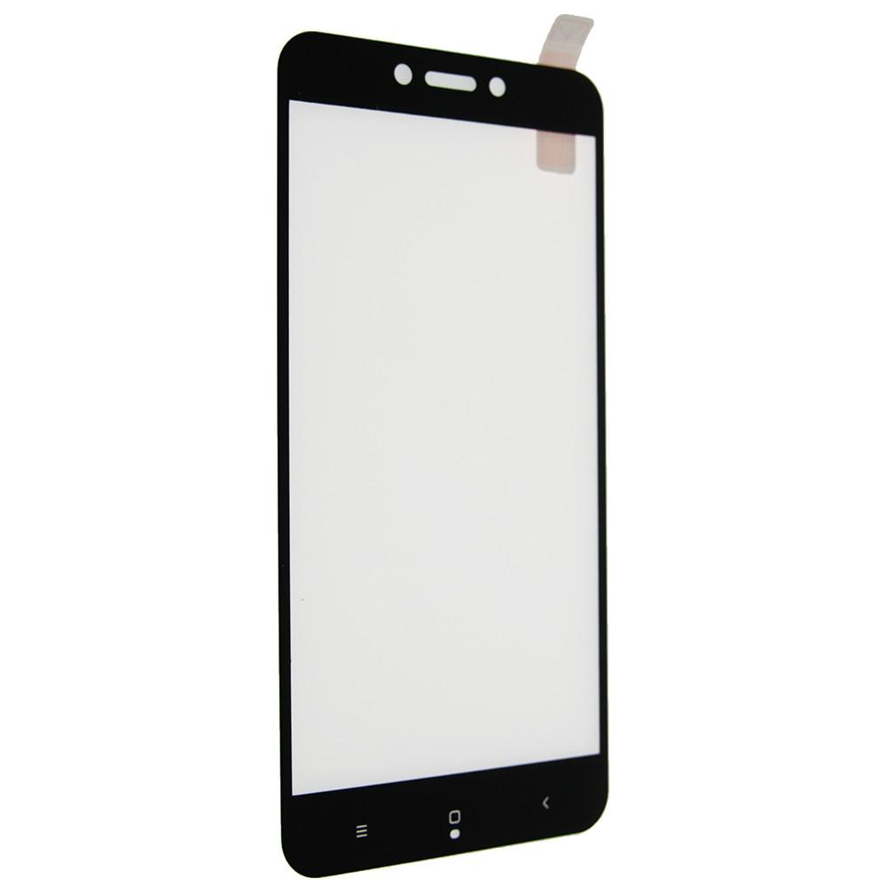 Защитное стекло 5D full glue для Xiaomi Redmi 5A - черный