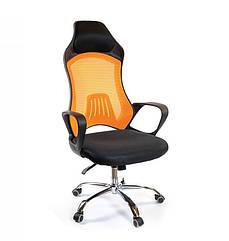 Кресло Дорос CH ANF черный/оранж А-класс