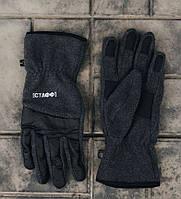 Мужские перчатки Staff fleece grafit size M-L