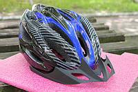 Шлем велосипедный Carbon blue, фото 1