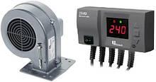 Блок управління KG ELEKTRONIK CS-20 + вентилятор DP-02 для твердопаливних котлів