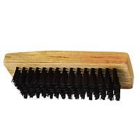 Щітка для взуття R85022, з натурального ворсу, розмір 11 * 4.5 * 3 см, дерево / ворсу, щітка, щітка для чищення, щітки