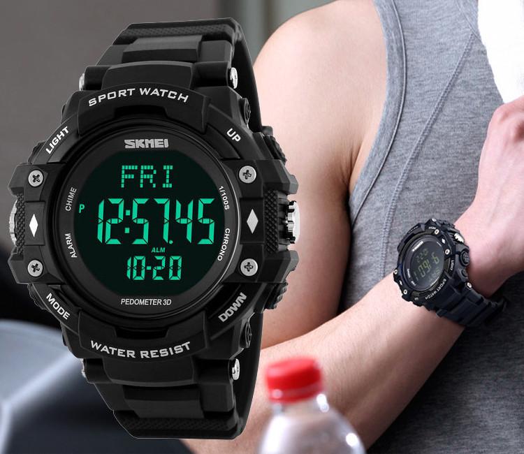 Cпортивные  часы с пульсометром Skmei Pulse1180