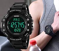 Skmei 1180 Pulse спортивные  часы с пульсометром