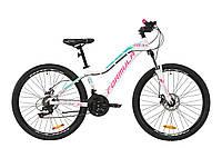 """Велосипед AL 26"""" Formula MYSTIQUE 1.0 AM DD 2020 (бело-малиновый с бирюзовым)"""