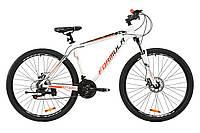 """Велосипед AL 29"""" Formula MOTION AM DD 2020 (бело-черно-красный)"""