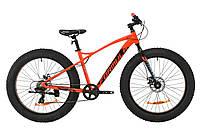"""Горный велосипед AL 26"""" Formula PALADIN DD 2020 (красно-черный с бирюзовым)"""