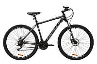 """Горный велосипед AL 29"""" Formula THOR 1.0 AM DD 2020 (черно-серый с белым (м))"""