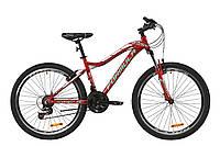 """Горный велосипед AL 26"""" Formula MYSTIQUE 2.0 AM Vbr 2020 (рубиновый с зеленым и белым)"""