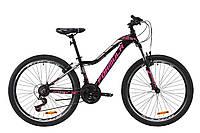 """Горный велосипед AL 26"""" Formula MYSTIQUE 2.0 AM Vbr 2020 (черно-малиновый с серебристым)"""