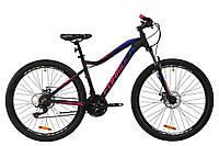 """Горный велосипед AL 27.5"""" Formula ALPINA AM DD 2020 (серо-розовый с синим (м))"""