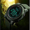 Cпортивные часы с компасом Skmei Compas 1289 Зеленые, фото 6