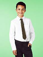 """Фирменная рубашка для мальчика """"Marks & Spencer"""", белая, на рост 176 см"""