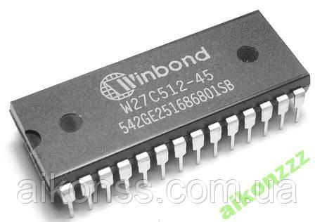 W27C512-45Z WINBOND DIP28 Оригінал W27C512