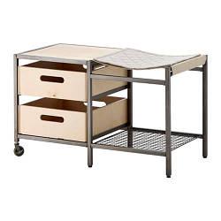 ИКЕА (IKEA) VEBERÖD, 503.433.31, Консольный стол, неокрашенный, 88x53 см - ТОП ПРОДАЖ