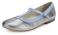 Туфли детские кожаные Marks & Spencer, оригинал, размер 28-29