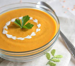 Суп-крем из чечевицы