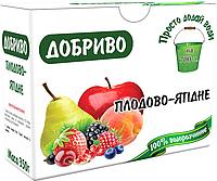 Удобрение Новоферт для плодовых деревьев и ягодных культур, упаковка 350 г на 700 л воды