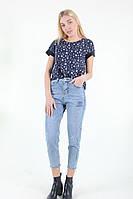 Штаны женские Wear classic 9103 джинс (Синий M)