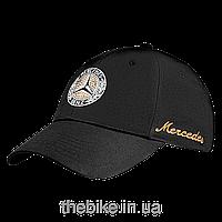 Женская бейсболка Mercedes-Benz Cap Black Ladies with Swarovski