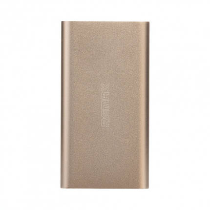 Портативна батарея 10000 mAh gold Vanguard Remax 200163, фото 2